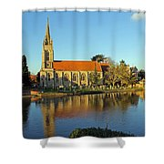 All Saints Church Marlow Shower Curtain