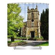 All Saints Church Weston Bath Shower Curtain