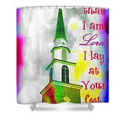 All That I Am Shower Curtain