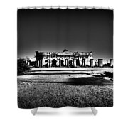 Mysterious Ruins Shower Curtain