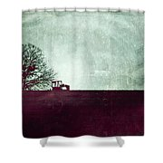 All That's Left Behind Shower Curtain by Trish Mistric