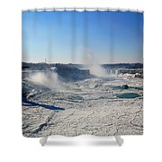 All The Falls Shower Curtain