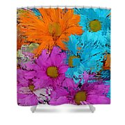 All The Flower Petals In This World 2 Shower Curtain by Kume Bryant