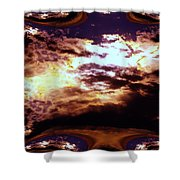 All The Wild Clouds Shower Curtain
