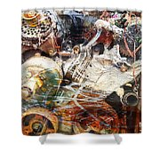 All This World Is Shower Curtain