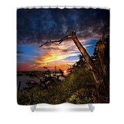 All Trails End Shower Curtain