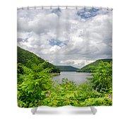 Allegheny Reservoir Shower Curtain