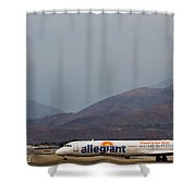 Allegiant At Palm Springs Airport Shower Curtain