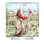 Alleluja Shower Curtain