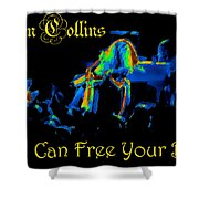 A C Can Free Your Bird #2 Shower Curtain