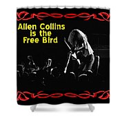 A C  Is The Free Bird 2 Shower Curtain