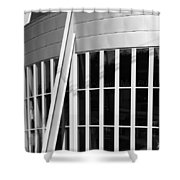 Allen County Museum Black And White Shower Curtain
