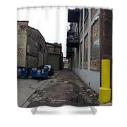 Alley 11 Shower Curtain