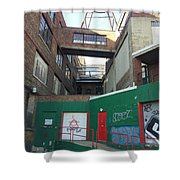 Alley 2 Shower Curtain