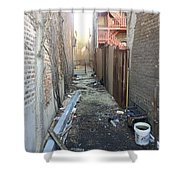 Alley 44 Shower Curtain