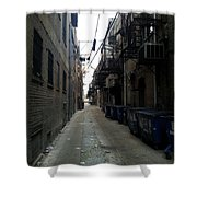 Alley 7 Shower Curtain