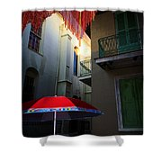 Alley Art Shower Curtain