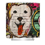 Alley Colors Shower Curtain