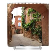 Alley In Roussillion Shower Curtain