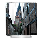 Alley In Schleswig - Germany Shower Curtain