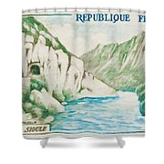 Alley Of Sioule Shower Curtain