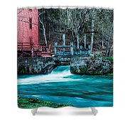 Alley Springs Mill Shower Curtain