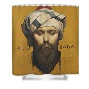 Alli Baba Shower Curtain
