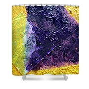 Collage Nr. 11 Alligator River Shower Curtain by Jo Ann
