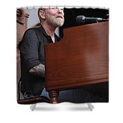 Allman Brothers Band - Gregg Allman Shower Curtain