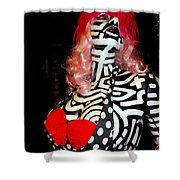 Alluringly Abstract Shower Curtain
