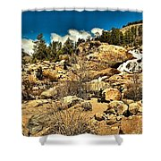 Alluvaial Fan Shower Curtain
