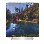 Ally Springs Mill  The Fall Shower Curtain