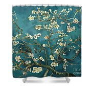 Almond Blossoms' Reproduction Shower Curtain