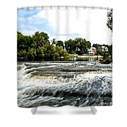 Almonte Falls Shower Curtain