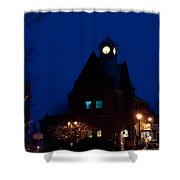 Almonte Ontario At Night Shower Curtain