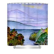 Almost Autumn Shower Curtain