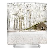 Almost Gone Shower Curtain by Jean Noren