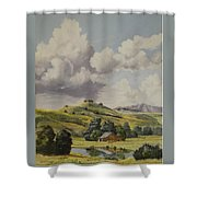 Almost Harvest Time Shower Curtain