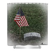 Almost Lost But Not Forgotten Shower Curtain