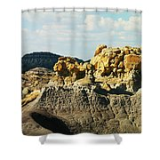 Almost Moonscape Shower Curtain