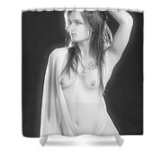 Almost Nude Shower Curtain