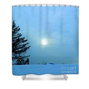 Almost Quittin' Time Shower Curtain