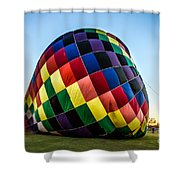 Almost Ready To Launch Shower Curtain
