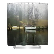 Almost Winter Shower Curtain