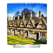 Almshouses Shower Curtain