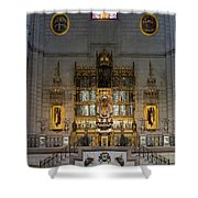 Almudena Cathedral Altar Shower Curtain