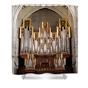 Almudena Cathedral Organ Shower Curtain