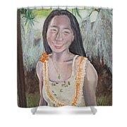 Aloha Jade Shower Curtain