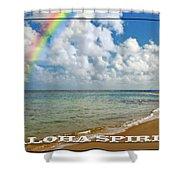 Aloha Spirit Shower Curtain