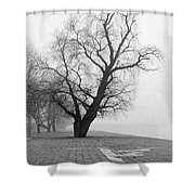 Alone And Lonely Shower Curtain